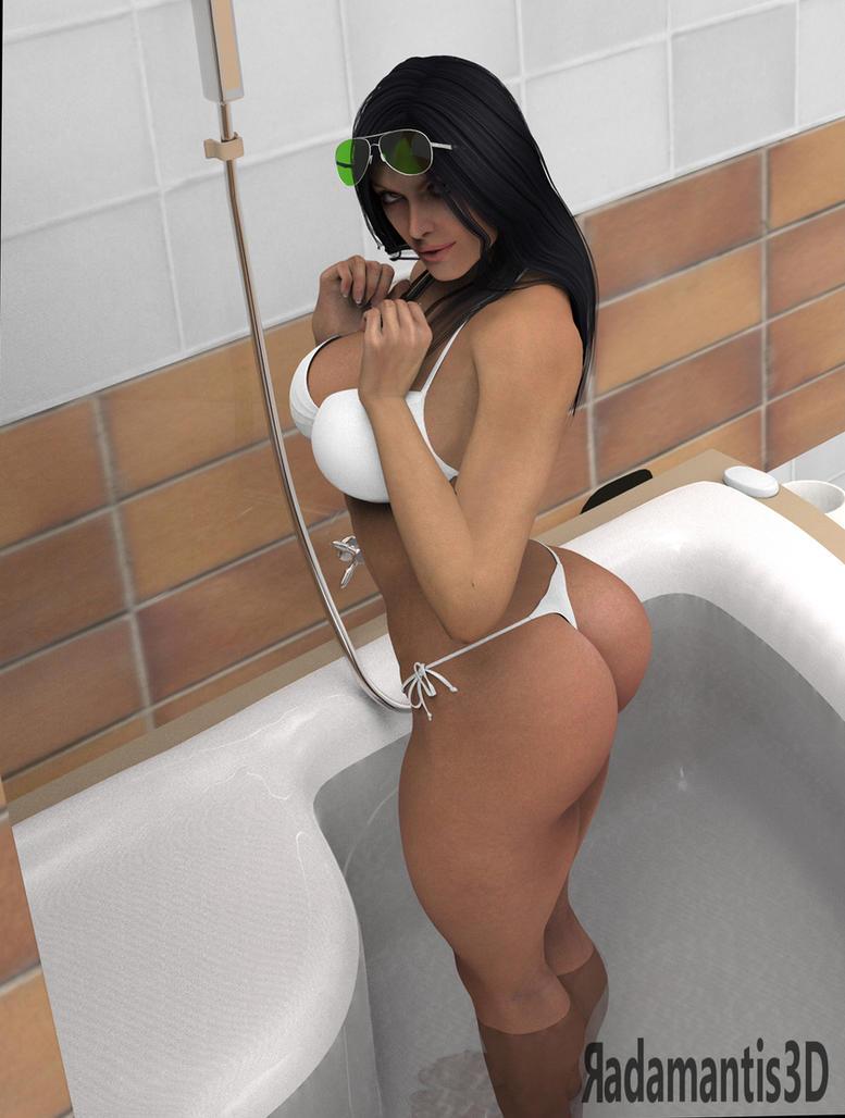Bath time by Radamantis3d