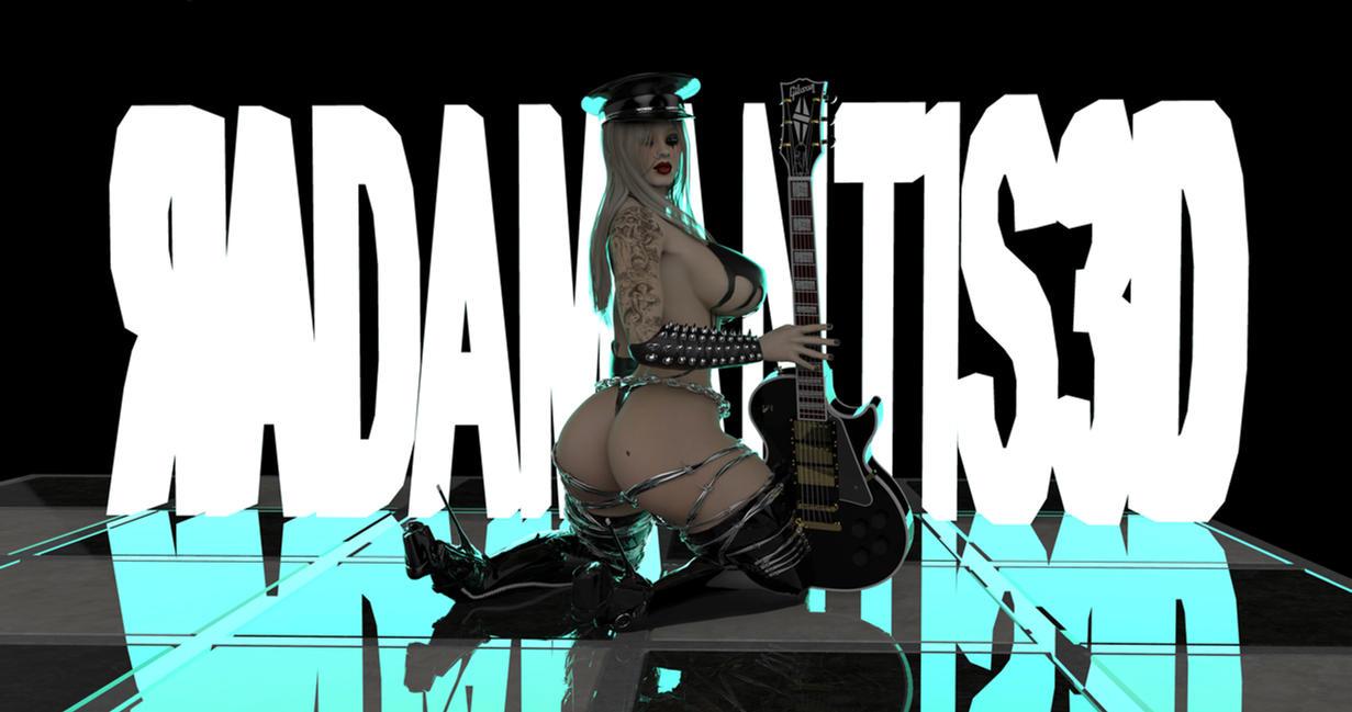 Bad Girl III by Radamantis3d