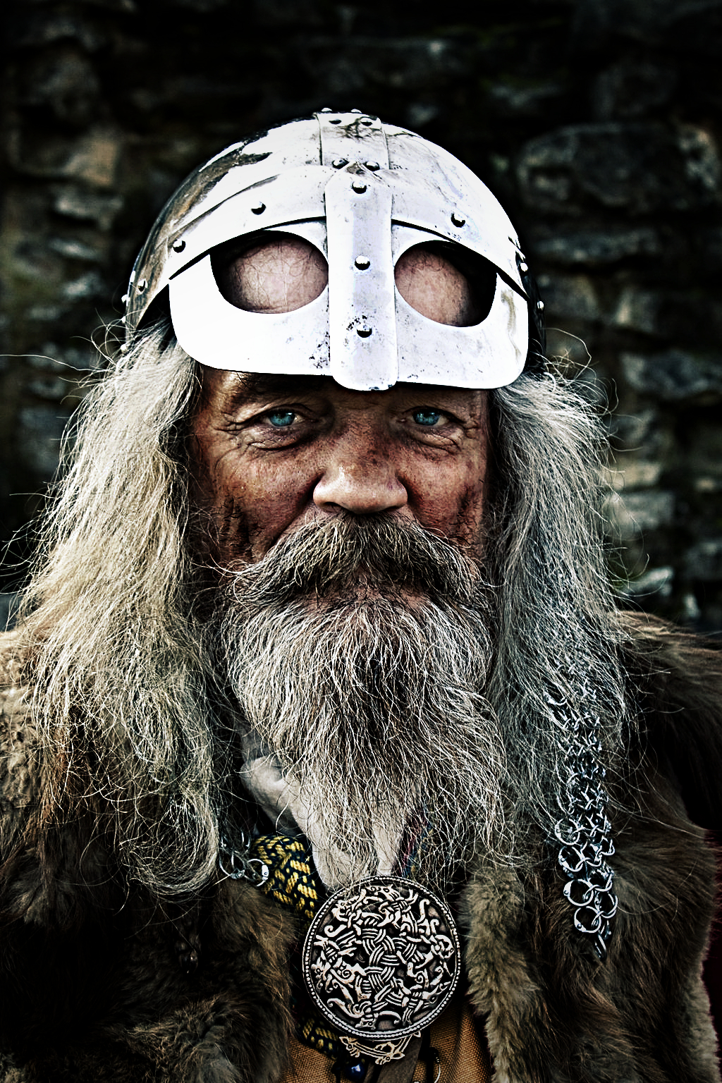 Portrait of a Viking by Cisoun