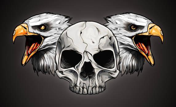 Eagles'n'skull