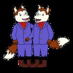 Freddy and Ferdy Fox