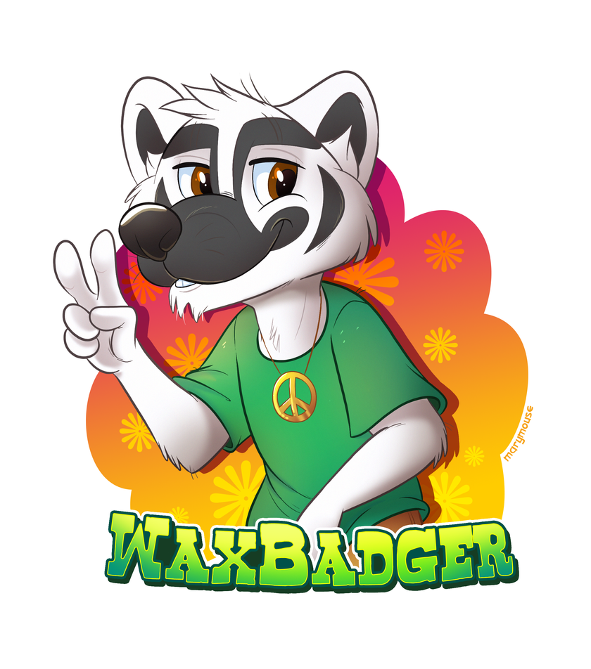 WaxBadger's Groovy New Badge by Mary Mouse FC 2018 by The-WaxBadger
