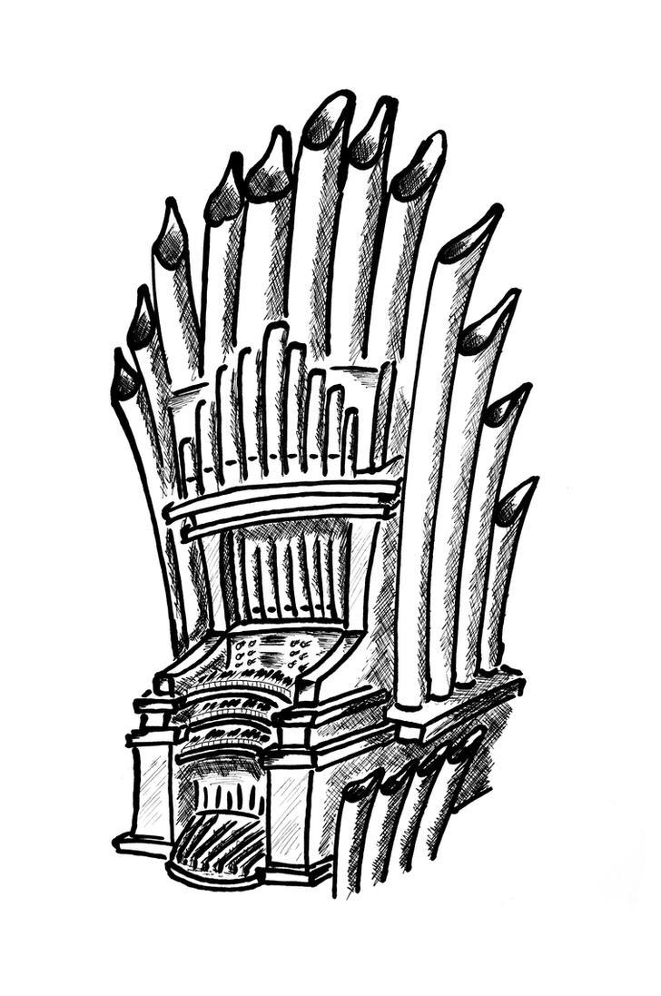 Organ Cartoon Style By Mottsei On Deviantart