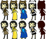 Pixel set: Lutzi