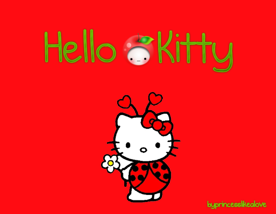 hello kitty wallpaper red hd - photo #5