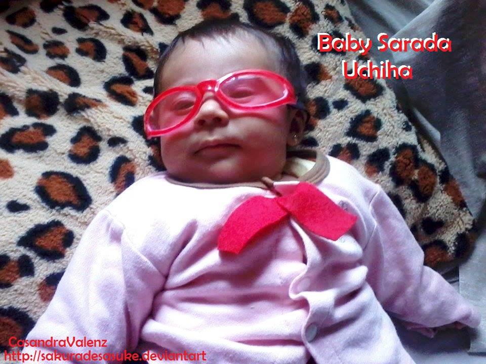 Baby Sarada Uchiha Cosplay look you by SAkuRAdeSAsuKE