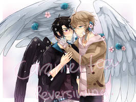 Com: Reversiwings FMN Hayden and Damien by Caramel-Tea