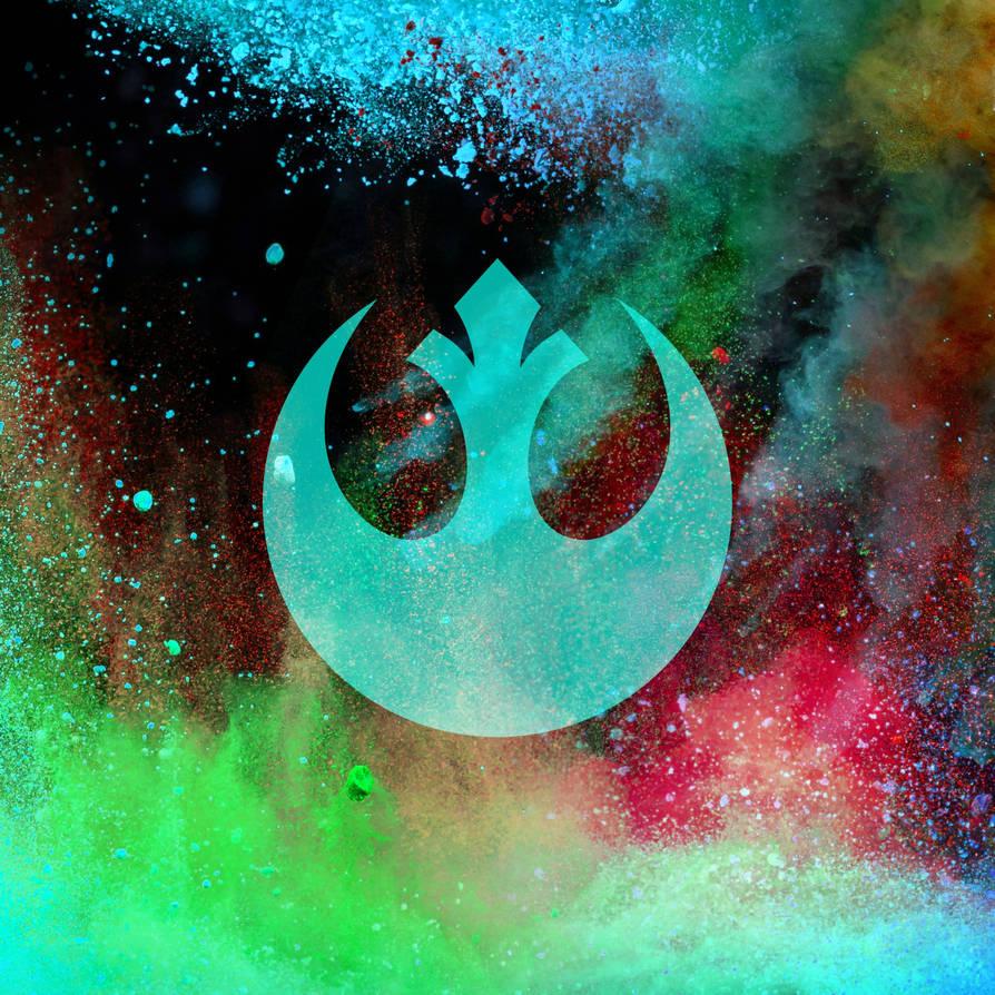 Star Wars Rebel Logo Wallpaper By Lukeman8610 On Deviantart