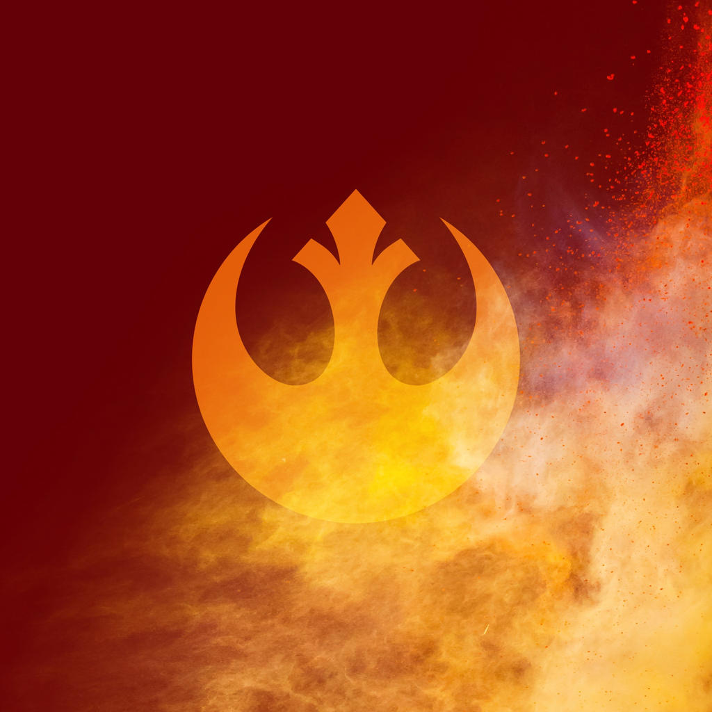 Star Wars Rebel Logo Wallpaper by Lukeman8610