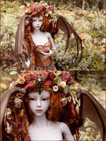 Dragon Goddess by Sarqq