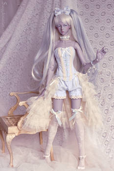 Holiday's Ghostly outfit
