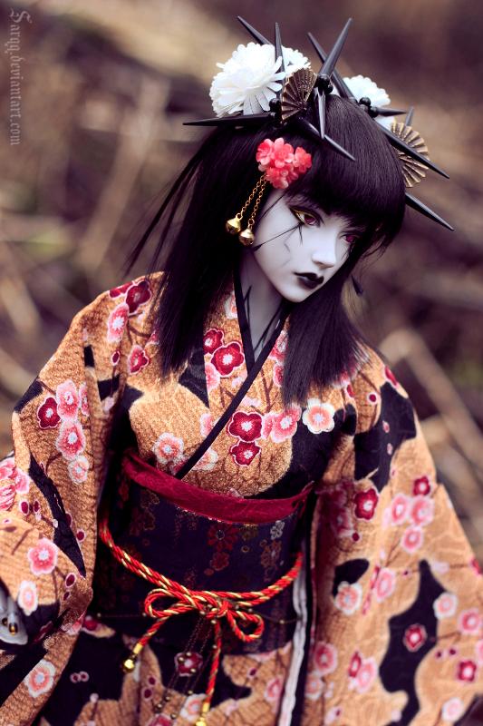 Cyber Geisha by Sarqq