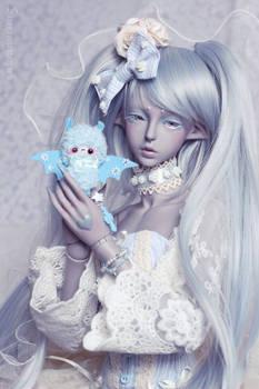 My little blue friend :3
