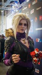 Mara Sov at Comic Con Russia 2016