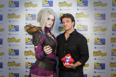Mara Sov and Cayde-6 in real life