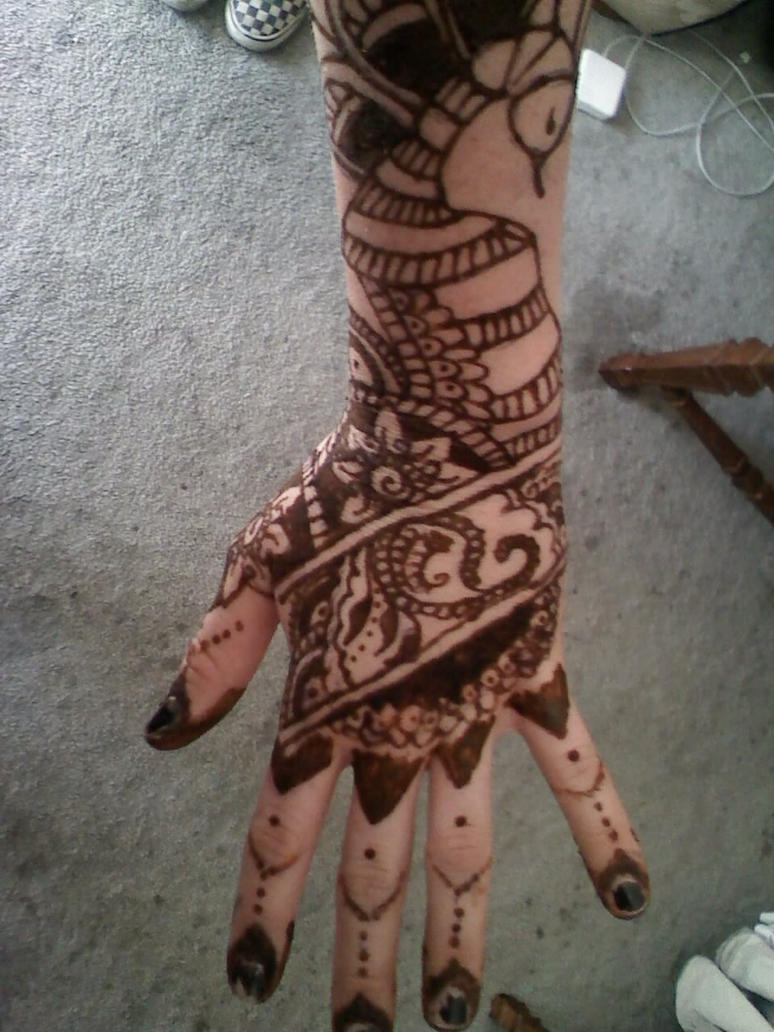 Henna Designs For Hands Picture 7