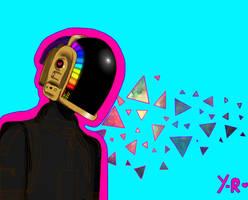 Daft Punk by Yaneth-Rainbow