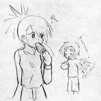 Rukato: Stolen Ice-cream by an-angels-tears