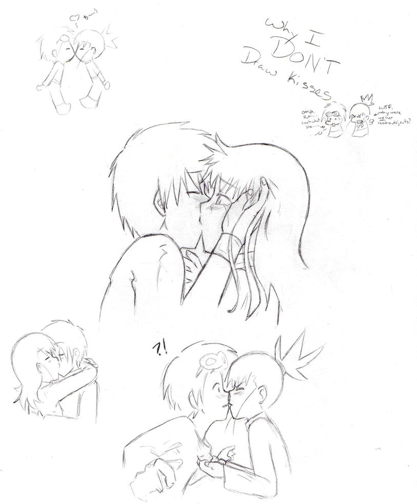 Why I Don't Draw Kisses By Anangelstears