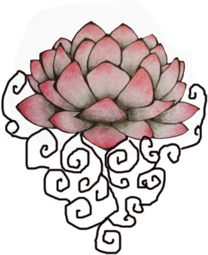 Flower Tattoo With Vines: Lotus Tattoo Vine Sketch By Chaoscomesatnite On DeviantArt