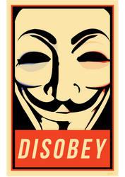 Disobey - Anonymous by SkyPOW