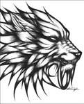 Cloudy Wolf Fan Art