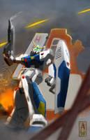 Gundam Alex by Same-kun
