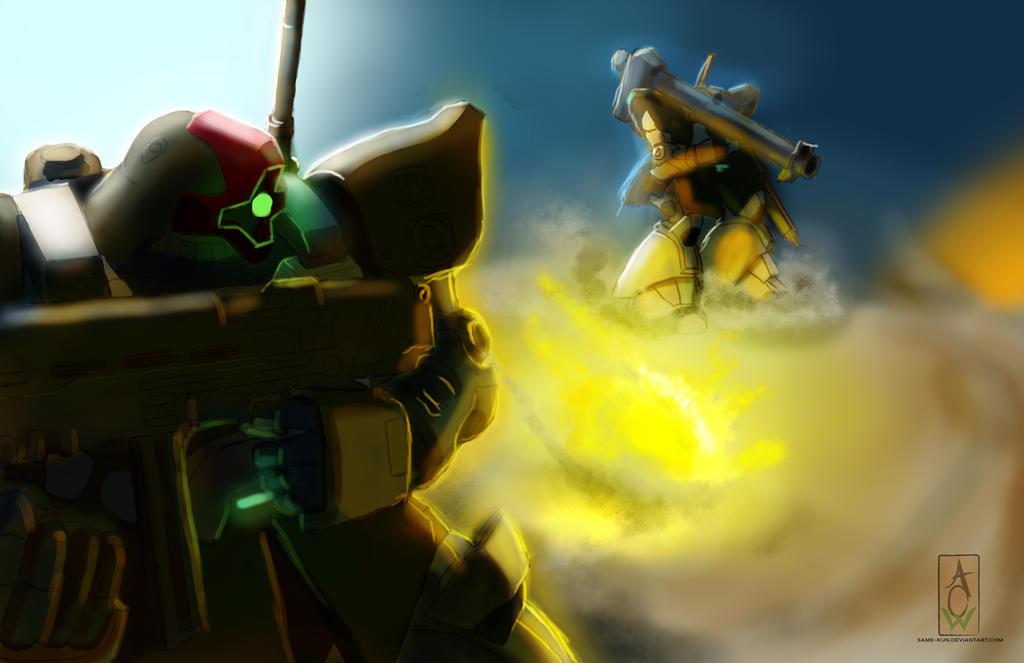 Desert Assault by Same-kun