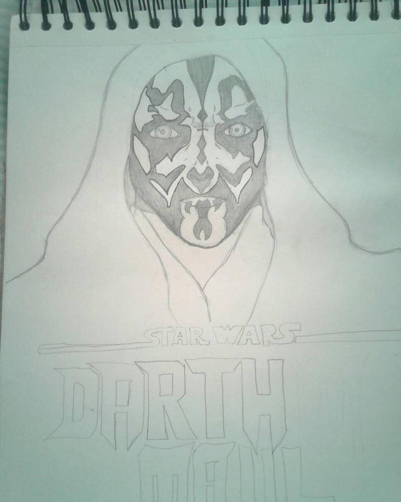 Darth maul by gabrielsart89