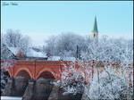 Bridge in Kuldiga - Winter II by gatis-vilaks