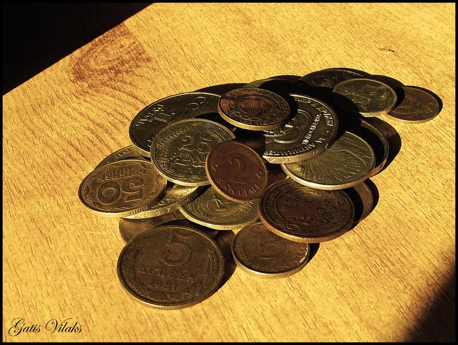 Coins by gatis-vilaks