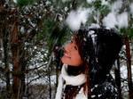 Enjoying The Snow by gatis-vilaks
