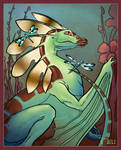 Dragonfly Drake by MeliHitchcock