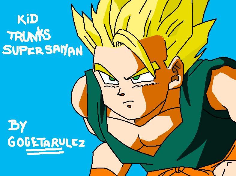 Kid Trunks Super Saiyan 2 by GogetarulezKid Trunks Super Saiyan 5