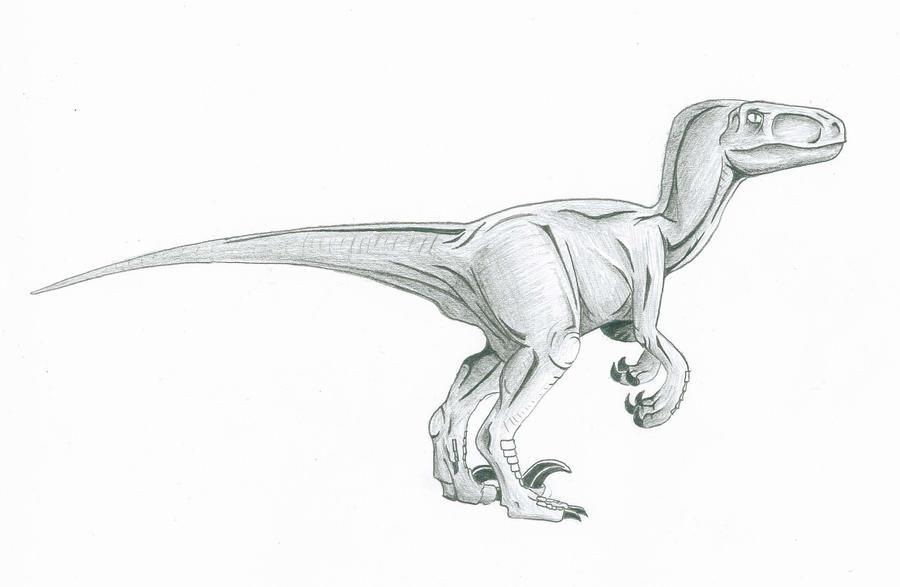 velociraptor painting related keywords - photo #3