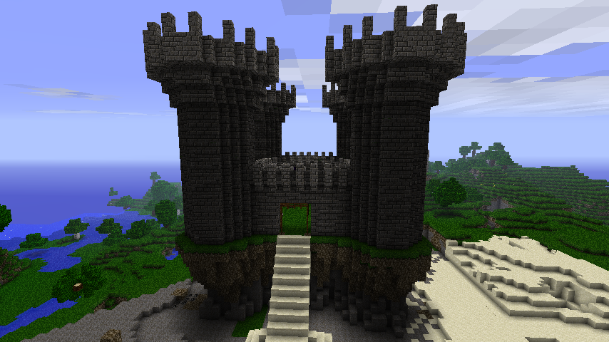 Wonderful Cobblestone Castle By Sarcasm Required ...