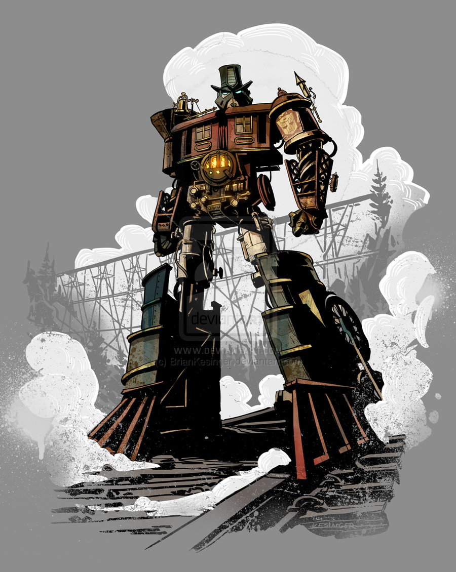 Locomutus Prime By Briankesinger-d5ageq1 by SneedVonThay