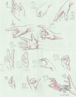 HANDS PACK #1-14 by PhantomStudio-Tommy