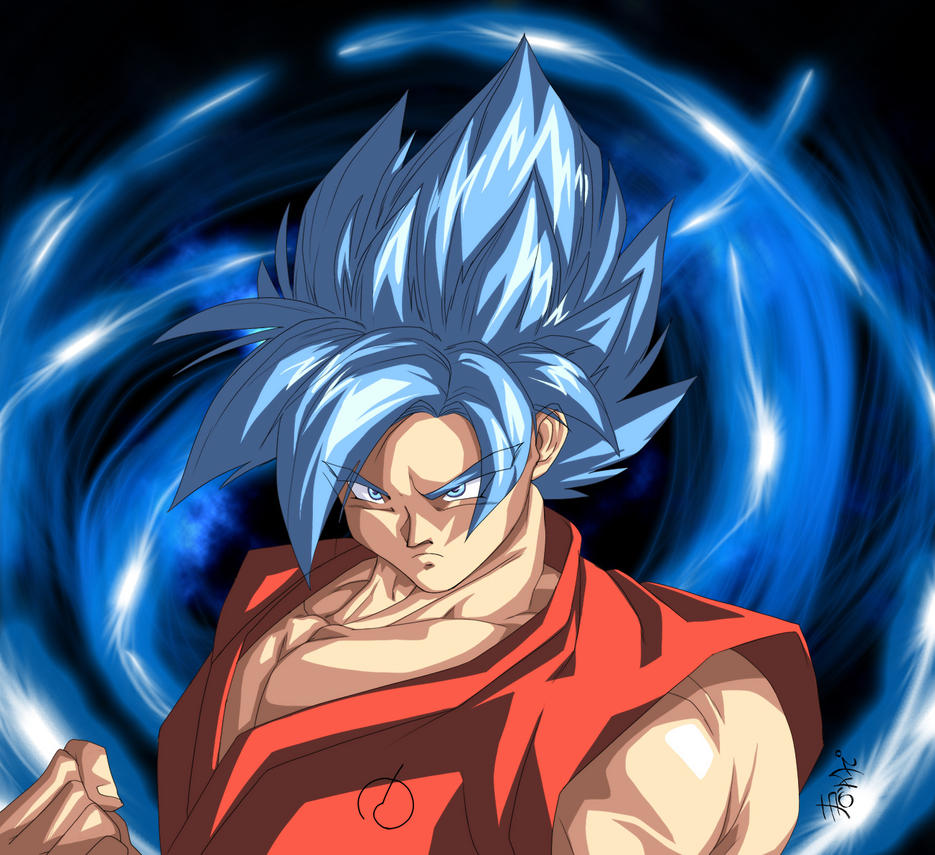 Super Saiyan Blue! by WarlockMaster