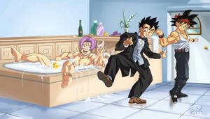 :Commission/Trunks in the bathtub