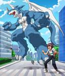 Digimon Tri-Daisuke and Xveemon