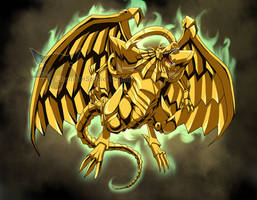 The Winged Dragon of Ra by PhantomStudio-Tommy