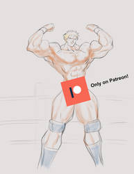 Only on Patreon! Full Nude Gunloc Flexing!