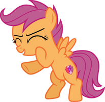 [Vector] Scootaloo by DerAtrox