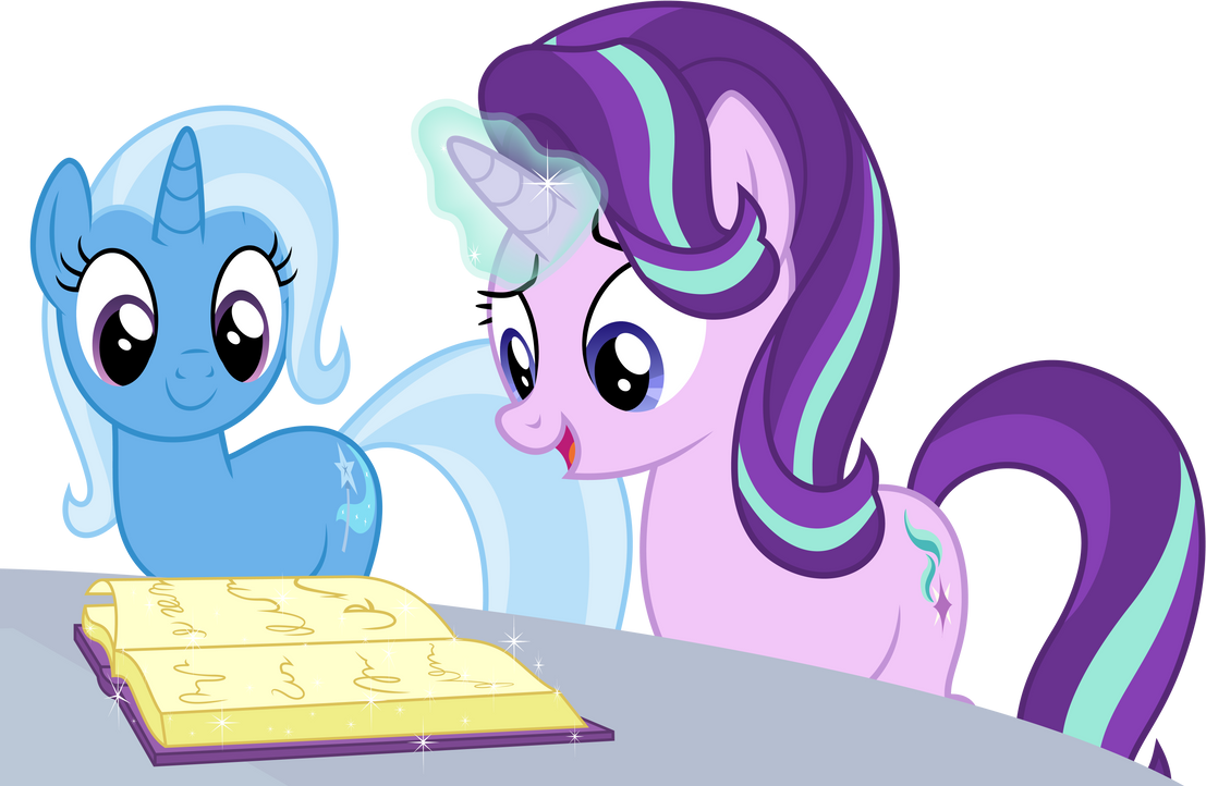 _vector__starlight_and_trixie_by_deratro