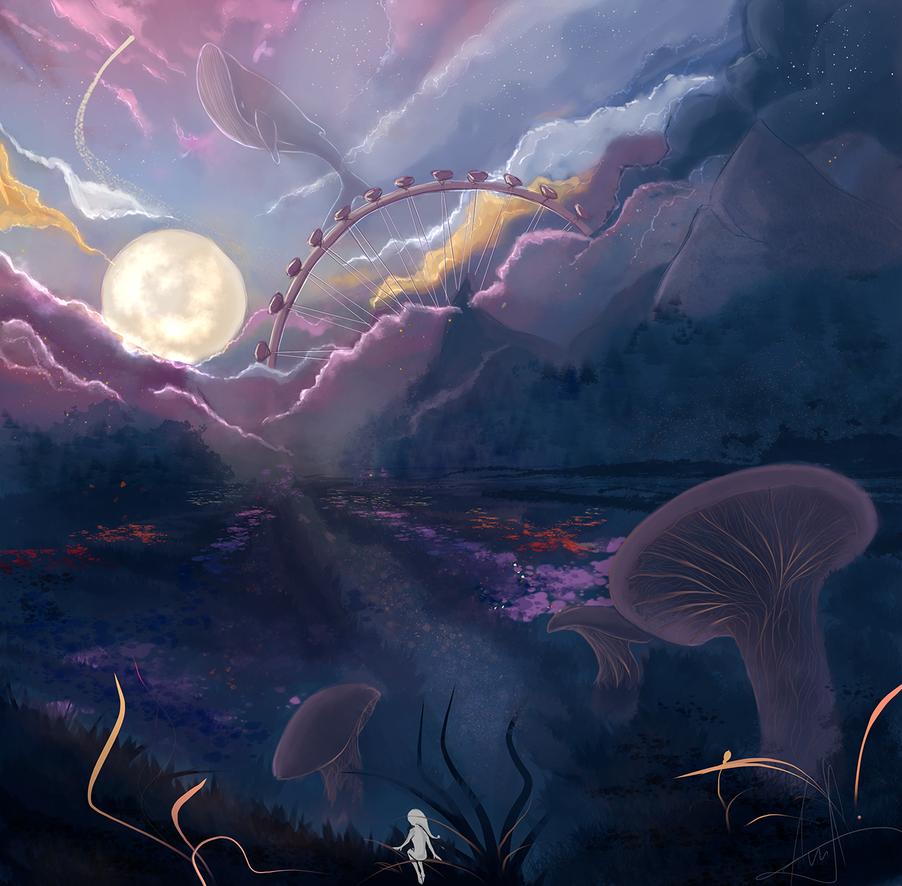 Strange Planet by Ashranum