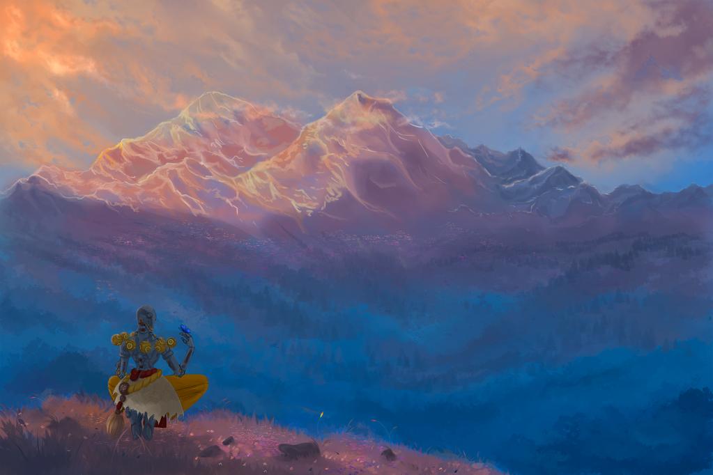 Meditation by Ashranum