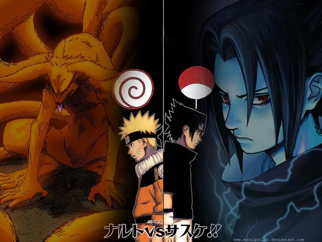 Naruto Vs Sasuke 1 By Escalprillo On DeviantArt
