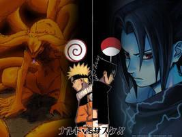 naruto vs sasuke 1 by escalprillo