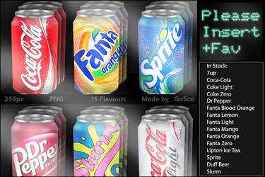 Beverage Cans by galaxygui